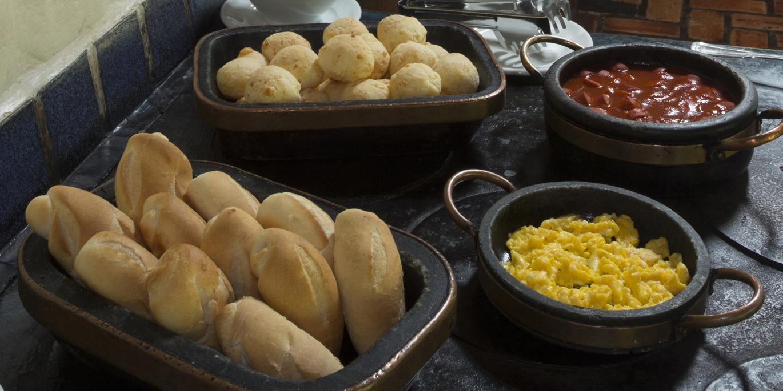 Café da manhã do Hotel Fazenda Boa Esperança