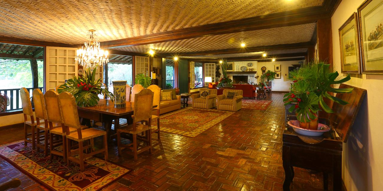 Salas do Hotel Fazenda Boa Esperança