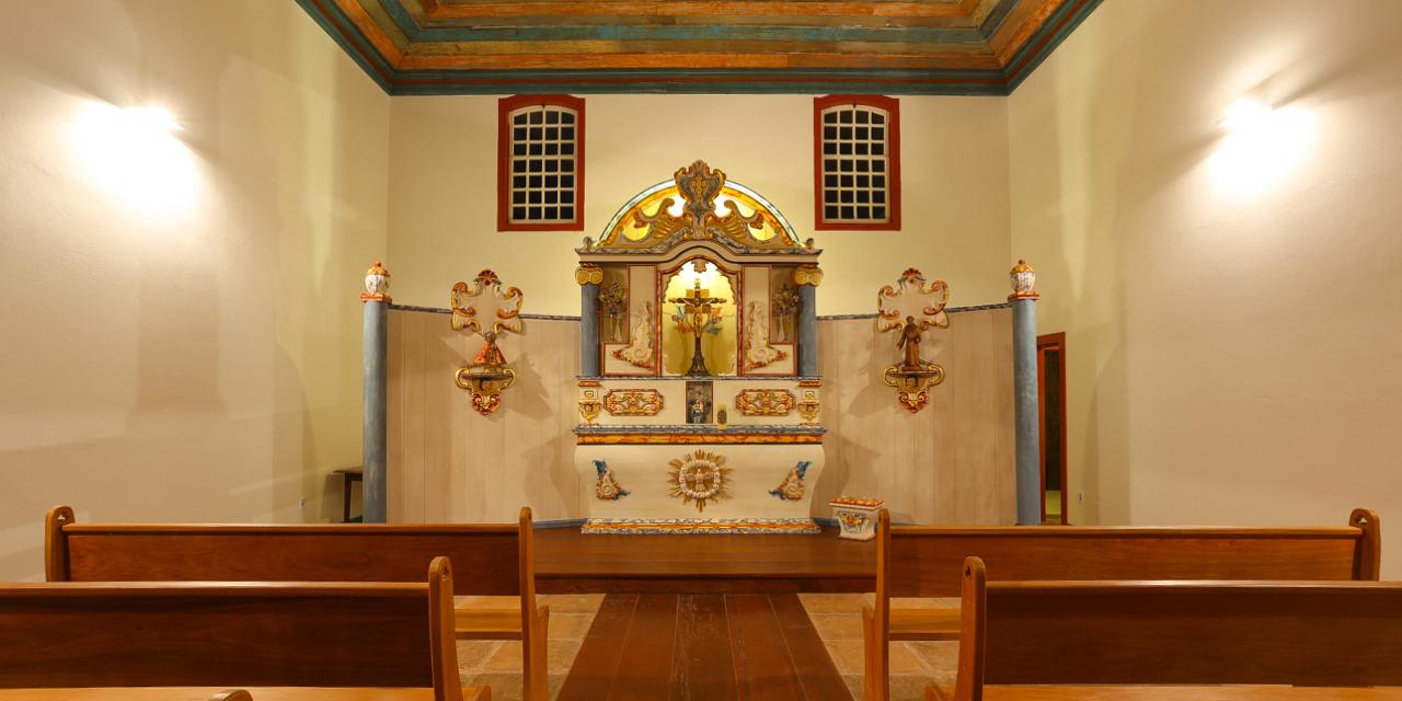 Altar da capela N. Sra. de Boa Esperança